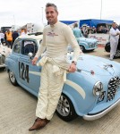 Ant Anstead at the Silverstone Classic 2017