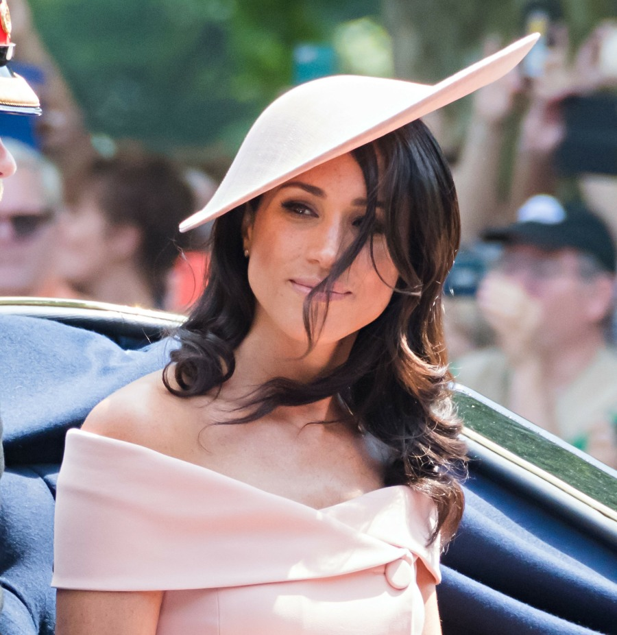 Prince Harry, Duke of Sussex, Meghan Markle, Duchess of Sussex attend Trooping the Colour for the official birthday of Queen Elizabeth II