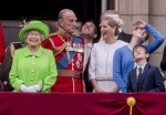 Trooping of the Colour, Buckingham Palace, London, England, 11/06/16