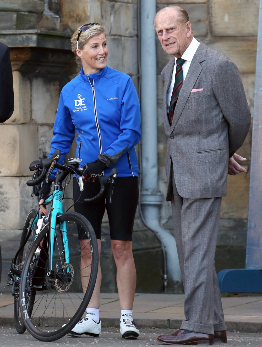 Countess of Wessex charity bike ride