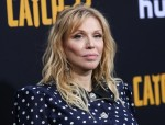 Singer Courtney Love wearing Alessandra Rich arrives at the Los Angeles Premiere Of Hulu's 'Catch-22' held at the TCL Chinese Theatre IMAX on May 7, 2019 in Hollywood, Los Angeles, California, United States. (Photo by Xavier Collin/Image Press Agency)