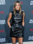 Actress Jennifer Aniston wearing Celine arrives at the Los Angeles Premiere Of Netflix's 'Murder Mystery' held at the Regency Village Theatre on June 10, 2019 in Westwood, Los Angeles, California, United States. (Photo by Xavier Collin/Image Press Agency)