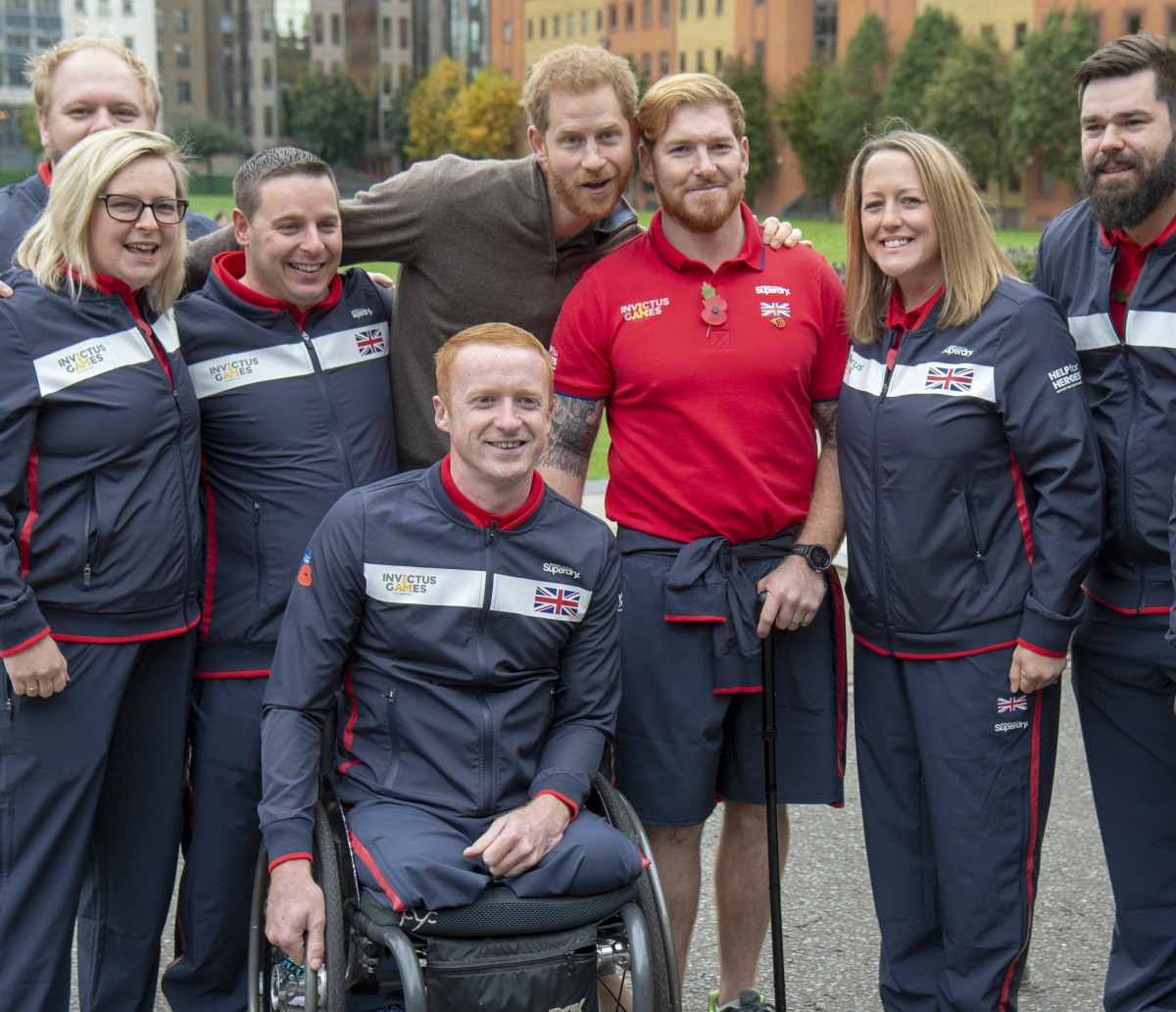 The Duke of Sussex will attend the launch of Team UK for the Invictus Games
