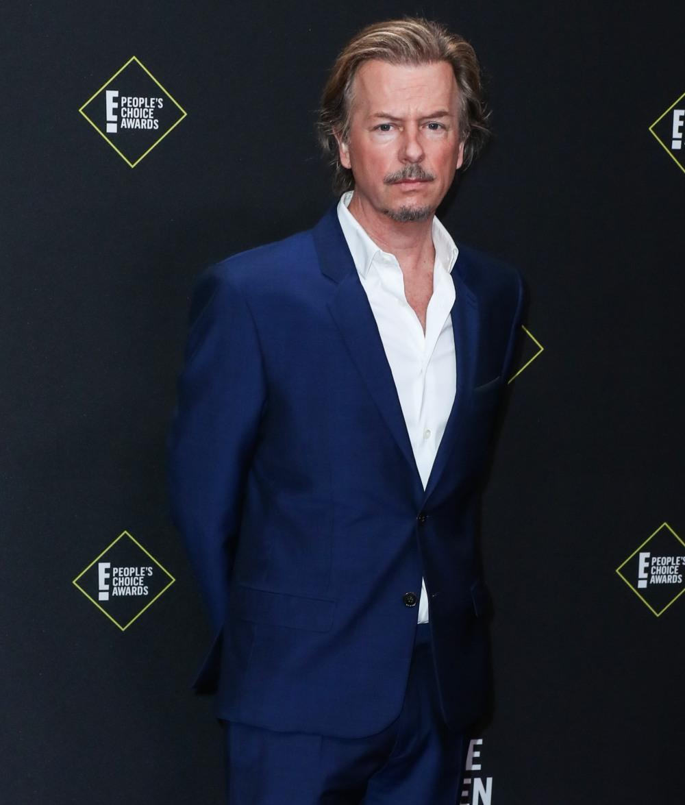 David Spade arrives at the 2019 E! People's Choice Awards held at Barker Hangar on November 10, 2019 in Santa Monica, Los Angeles, California, United States.