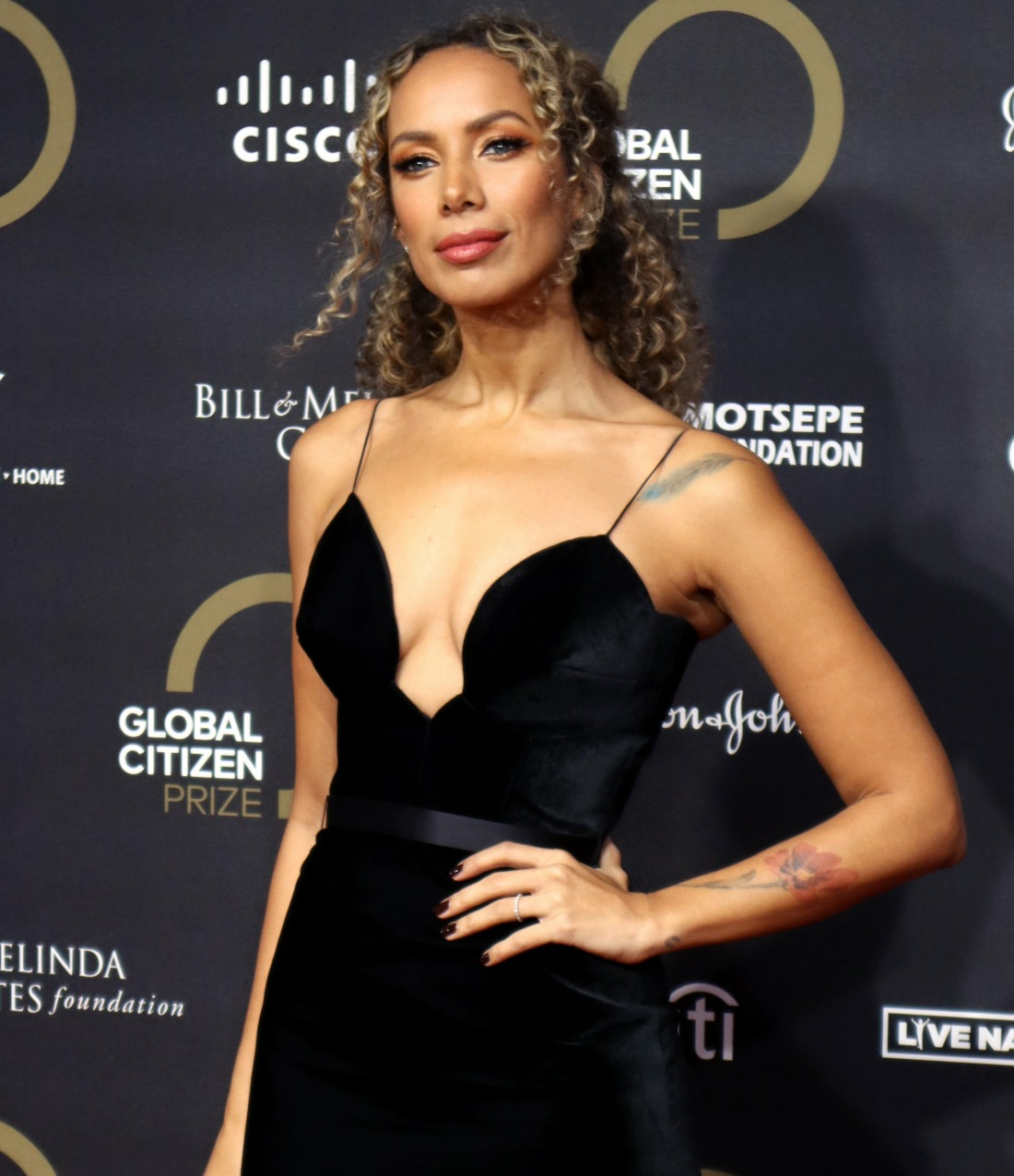 Leona Lewis at the Global Citizen Prize at the Royal Albert Hall in London 12th dec 2019 Photo by Cat morley