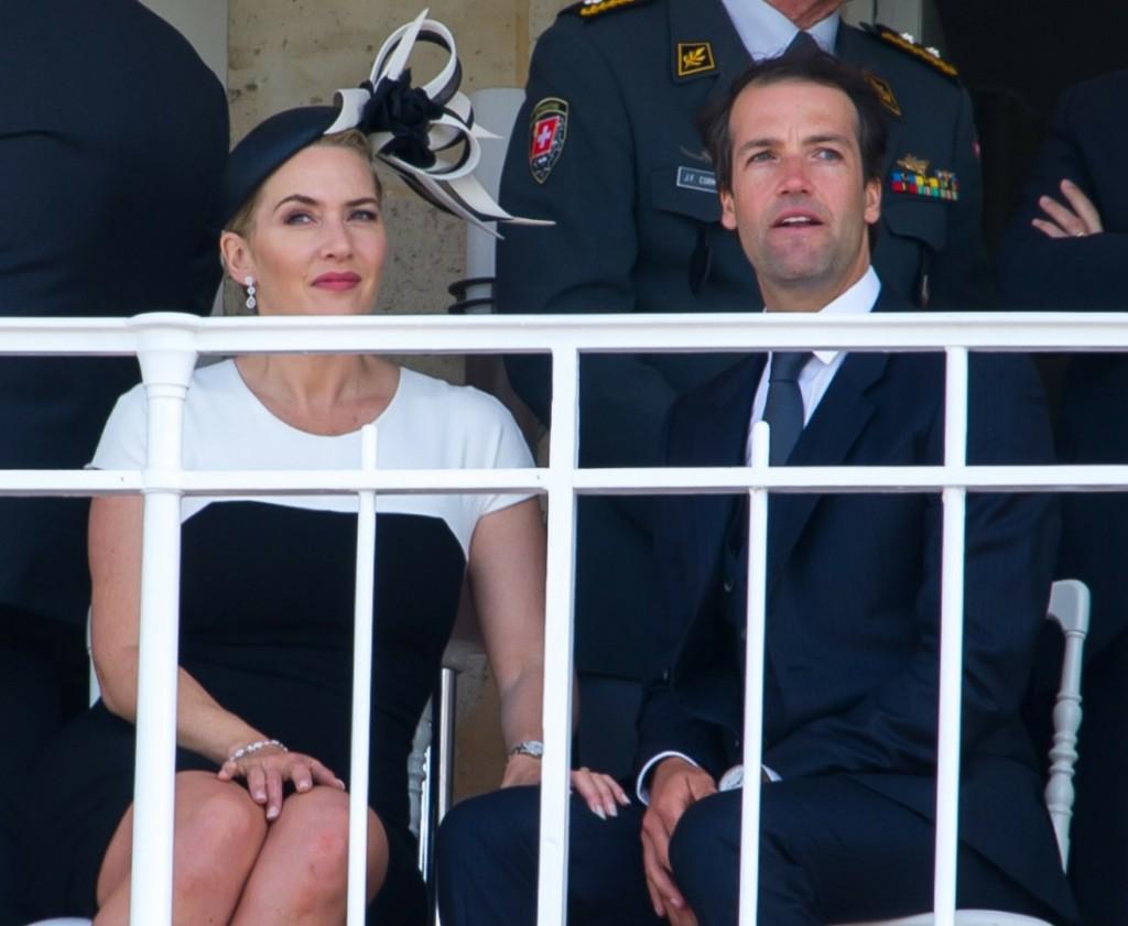 Kate Winslet et son mari Ned Rocknroll -..........