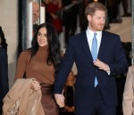 Prince Harry and Meghan Duchess of Sussex visit to Canada House, London, UK
