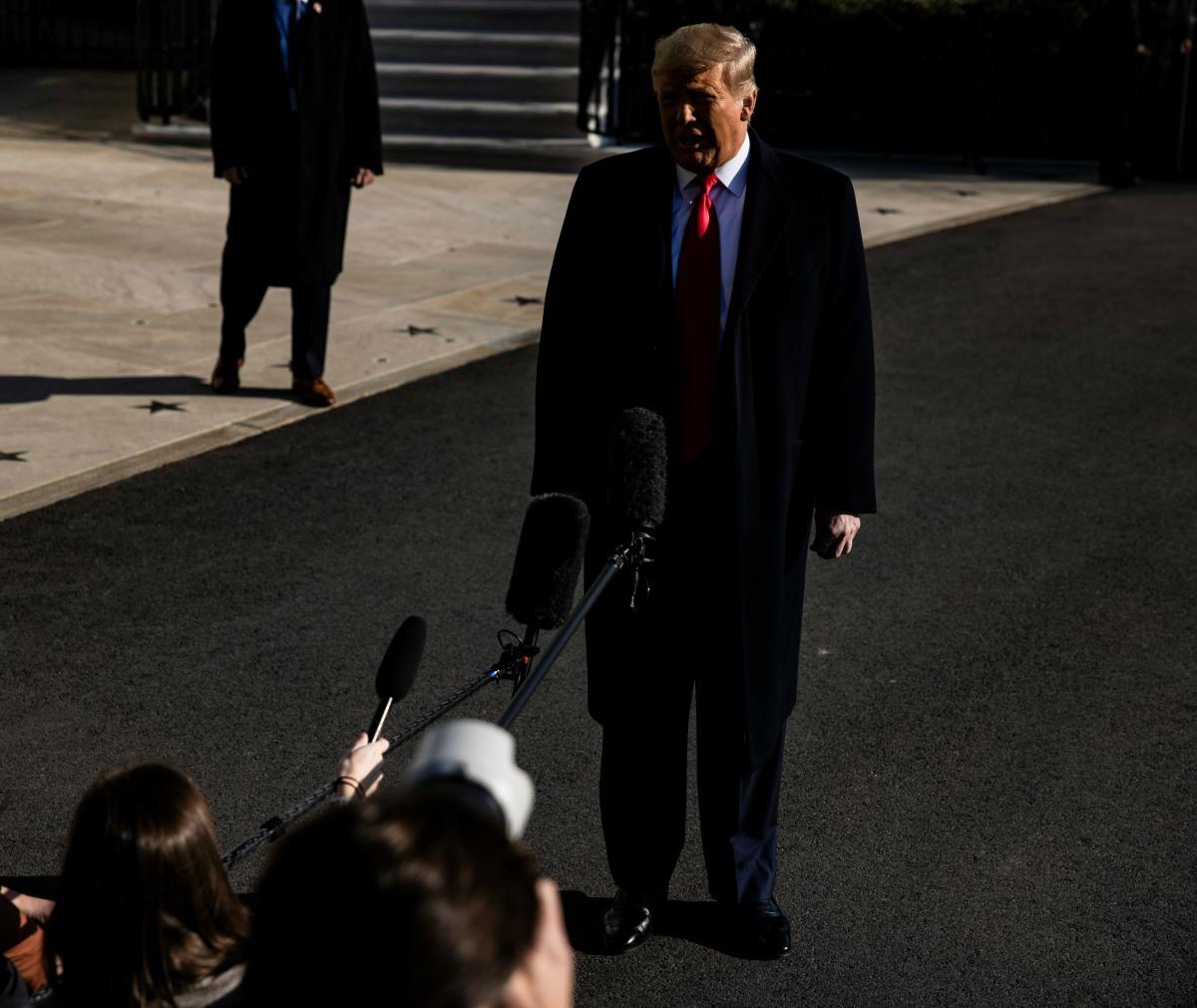 Trump Departure for Alamo, Texas