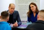 Britain's Prince William and Catherine, Duchess of Cambridge visit Coatbridge