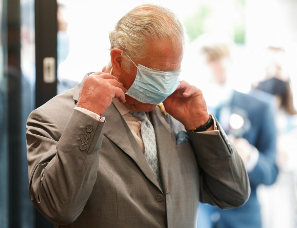 Britain's Prince Charles visits MINI plant in Oxford