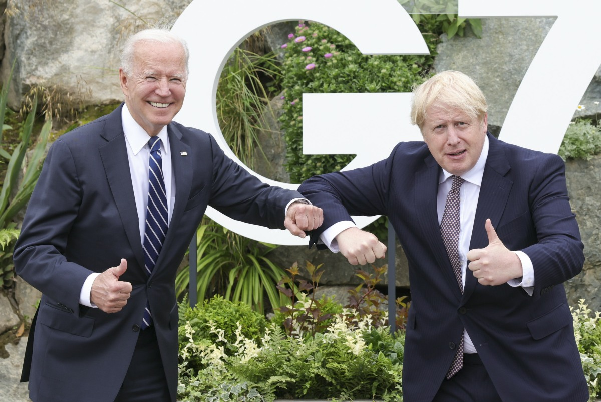 President of the United stated at G7 Leaders Summit