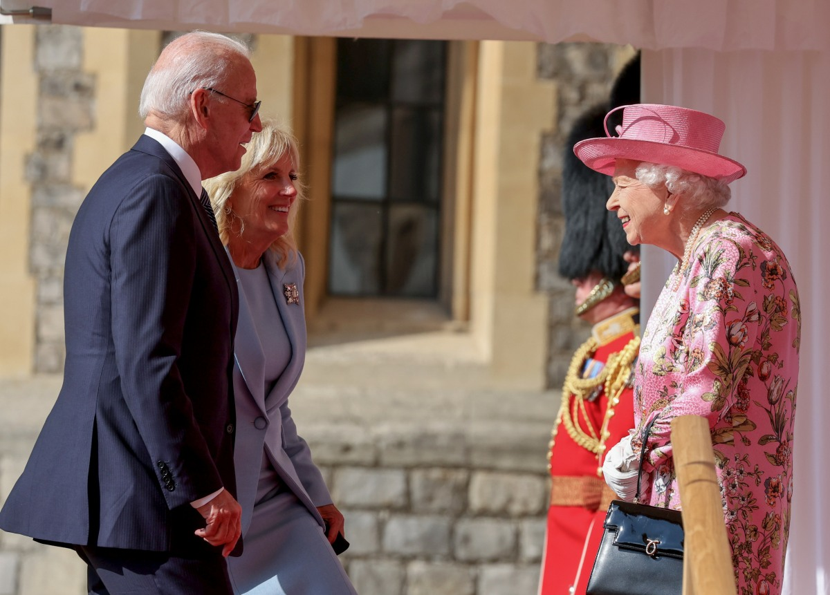 The Queen Invites The President Of The United States And The First Lady To Tea