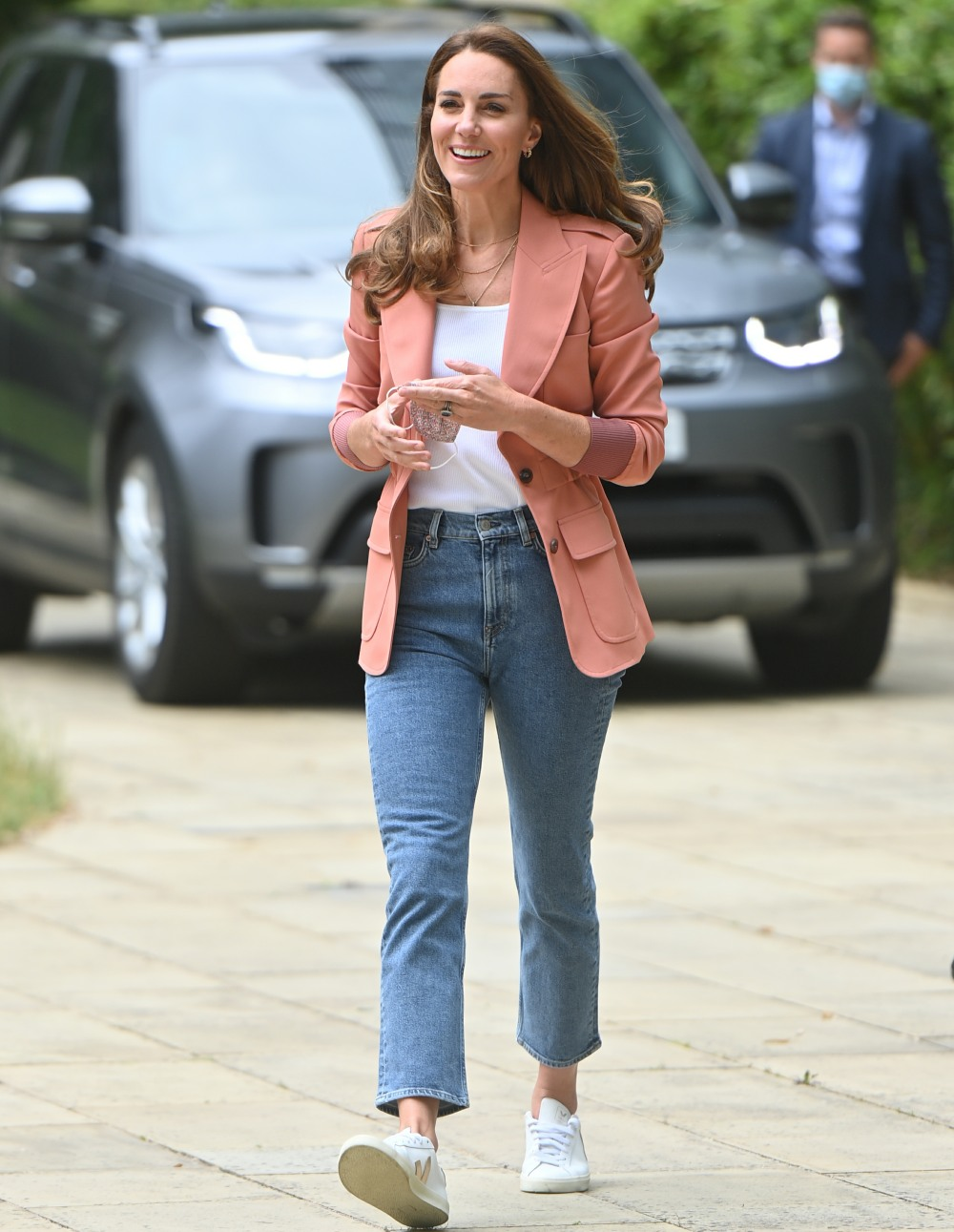Catherine, Duchess of Cambridge, visiting the Urban Nature Project at the Natural History Museum