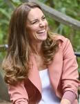 Catherine, Duchess of Cambridge, visiting the Urban Nature Project at the Natural History Museum, London
