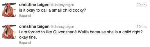 Chrissy Teigen leaves GMA studios with her daughter Luna