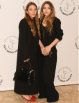 Mary Kate Olsen and Ashley Olsen attend the Youth America Grand Prix ballet competition