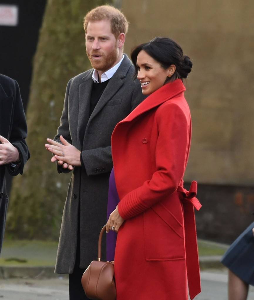 Prince Harry and Meghan Markle visit Birkenhead