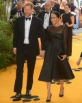 Prince Harry, Duke of Sussex and Meghan, Duchess of Sussex at 'The Lion King' premiere in London