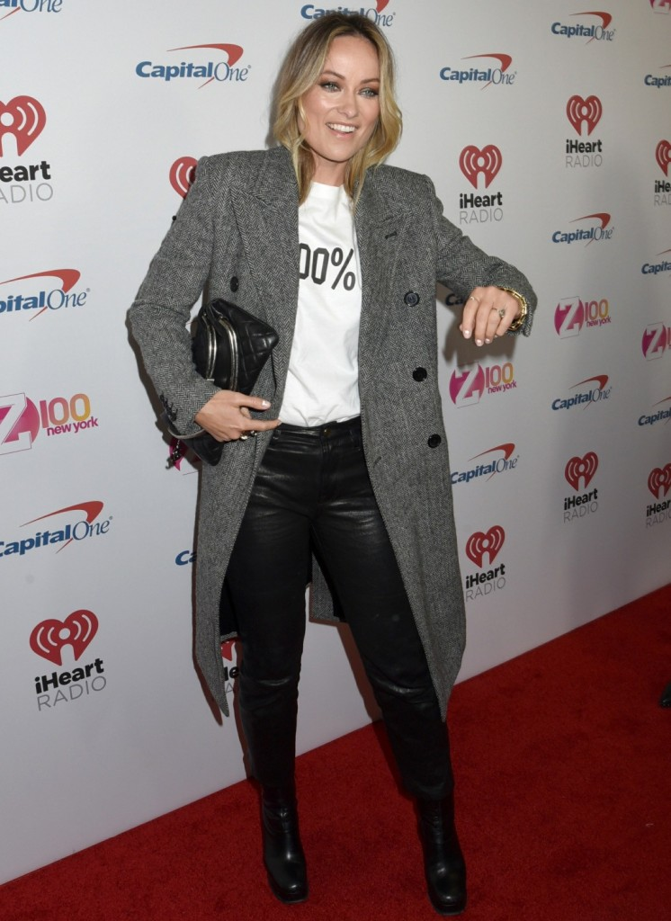 Olivia Wilde at iHeart Radio Z100s 2019 Jingle Ball in NYC