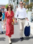 Pippa Middleton is pregnant with her second child! **FILE PHOTOS**