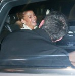 Jennifer Lopez and Ben Affleck share some laughs after a dinner date in Beverly Hills!