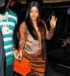 Cardi B and Offset arrive to BOA after Baby Announcement at the BET Awards