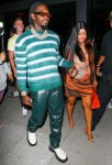 A pregnant Cardi B is seen leaving BOA Steakhouse with hubby Offset!