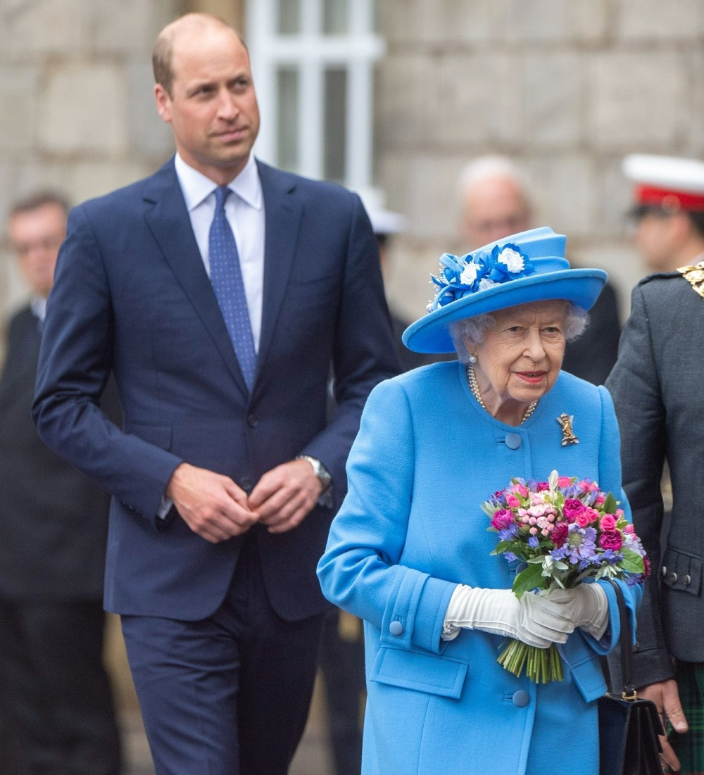 The Queen And Prince William attend the ceremony of the Keys in Edinburgh