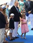 Prince Albert II of Monaco attends the inauguration of the Cala del Forte new port of Monaco