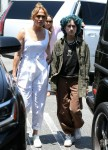 Ben Affleck and Jennifer Lopez go shopping at the Brentwood Country Mart