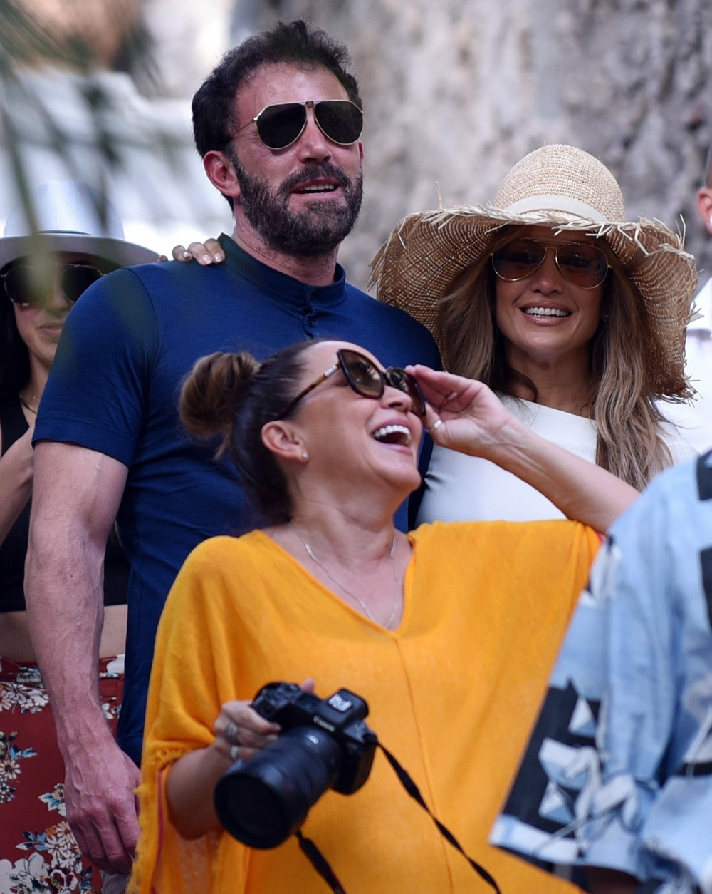 Jennifer Lopez and Ben Affleck look head over heels in love during vacation in Capri, Italy