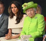 The Queen and Meghan The Duchess Of Sussex open the Mersey Gateway Bridge today, the bridge goes between Runcorn and Widnes in Cheshire.