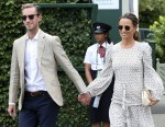 Celebrities at Wimbledon 2018 Day 11