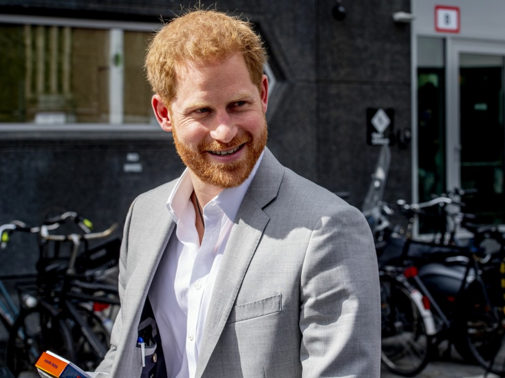 Prince Harry visits Amsterdam