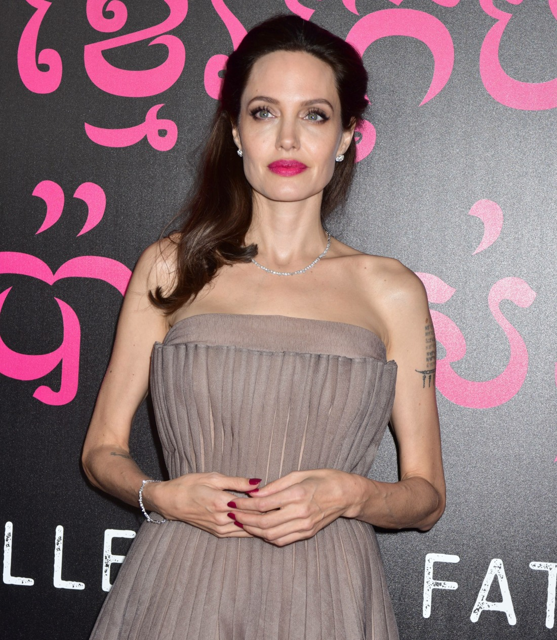Angelina Jolie at the First They Killed My Father New York premiere at The DGA Theater