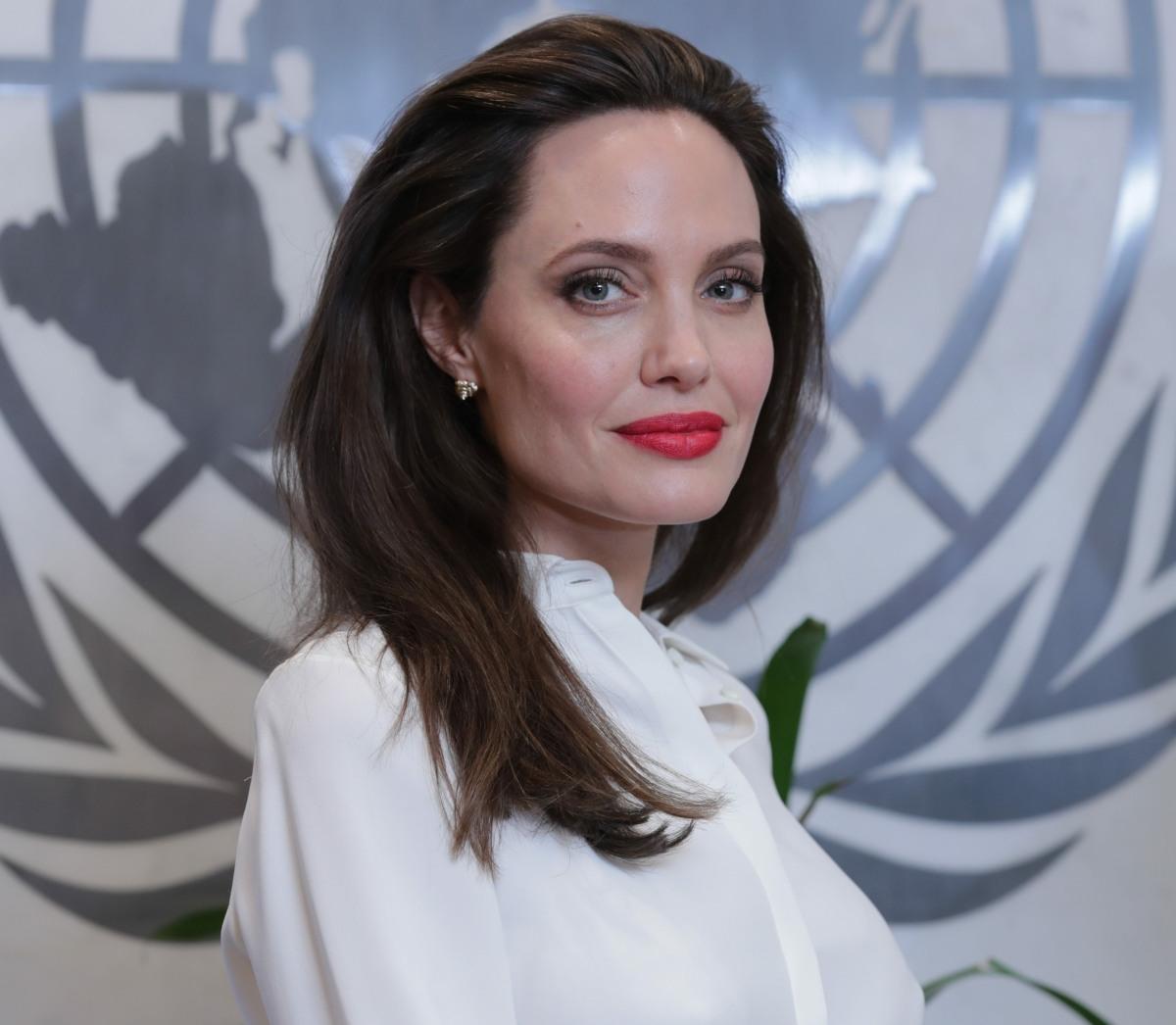 United Nations, New York, USA, September 14 2017 - Angelina Jolie...
