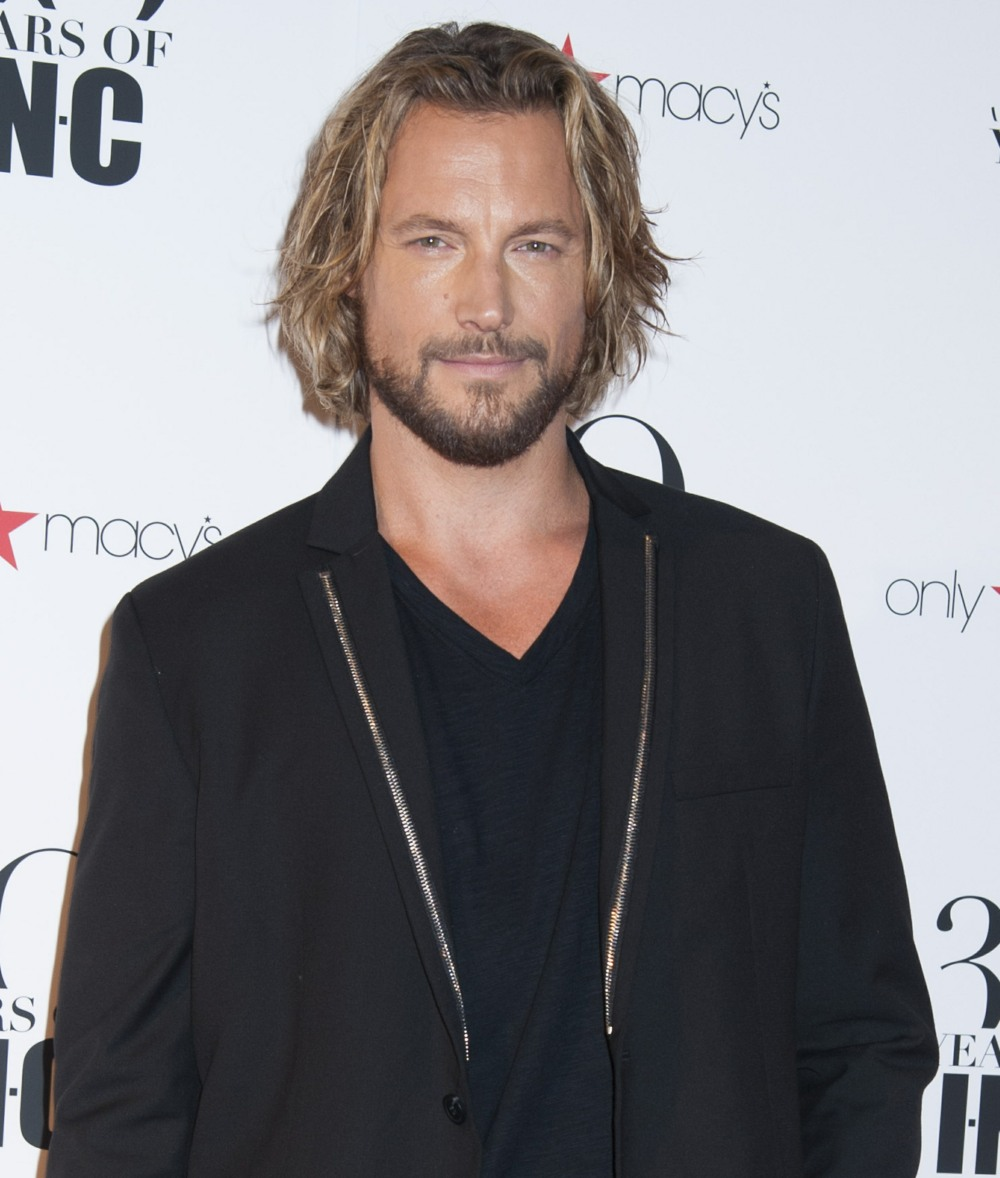 Gabriel Aubry attends Heidi Klum + Gabriel Aubry's celebration of the launch of INC's 30th Anniversary Collection at IAC Building in NYC