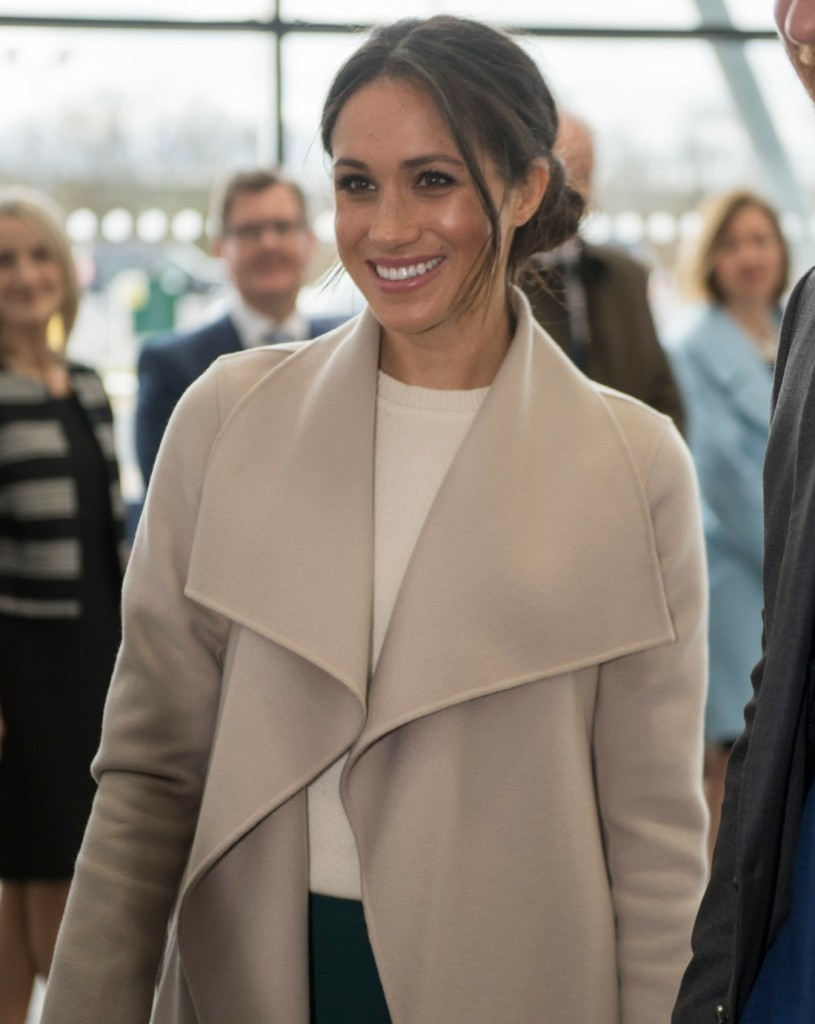 Prince Harry and Meghan Markle visited the Eikon Centre, where they attended an event to mark the second year of youth-led peace-building initiative Amazing the Space.  Funded by Cooperation Ireland and launched by Prince Harry in September 2017, Amazing