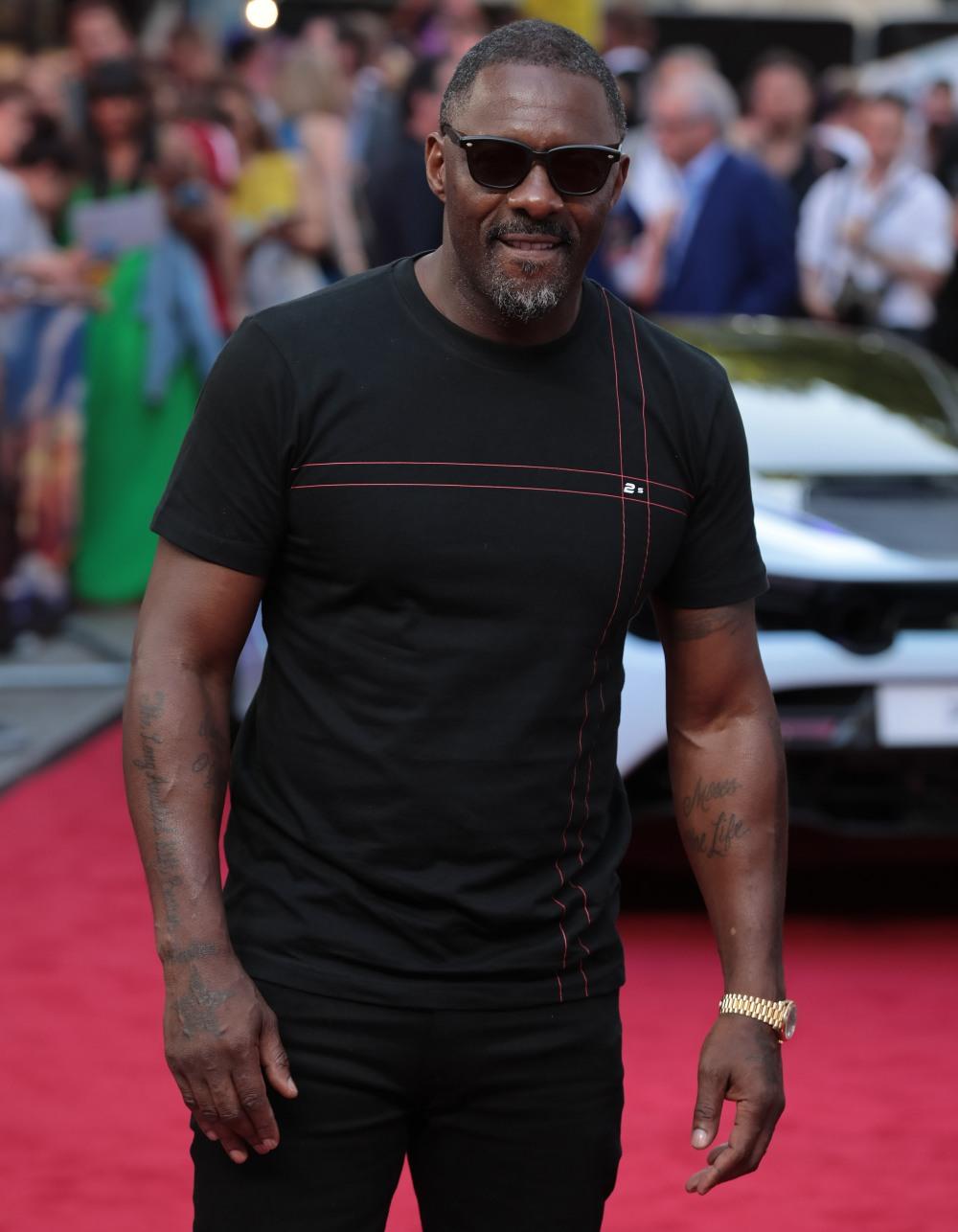 Idris Elba at 'Fast & Furious Presents: Hobbs & Shaw' film premiere, London, UK