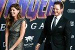 (FILE) Katherine Schwarzenegger and Chris Pratt Expecting First Child Together. This will be the fir...