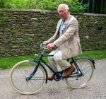 The Prince of Wales, Royal Founding Patron,  joined representatives of the BritishAsian Trust before they embarked on the charity's 'Palaces on Wheels' cycling event.At the prince's Highgrove, home , Tetbury, Gloucestershire,