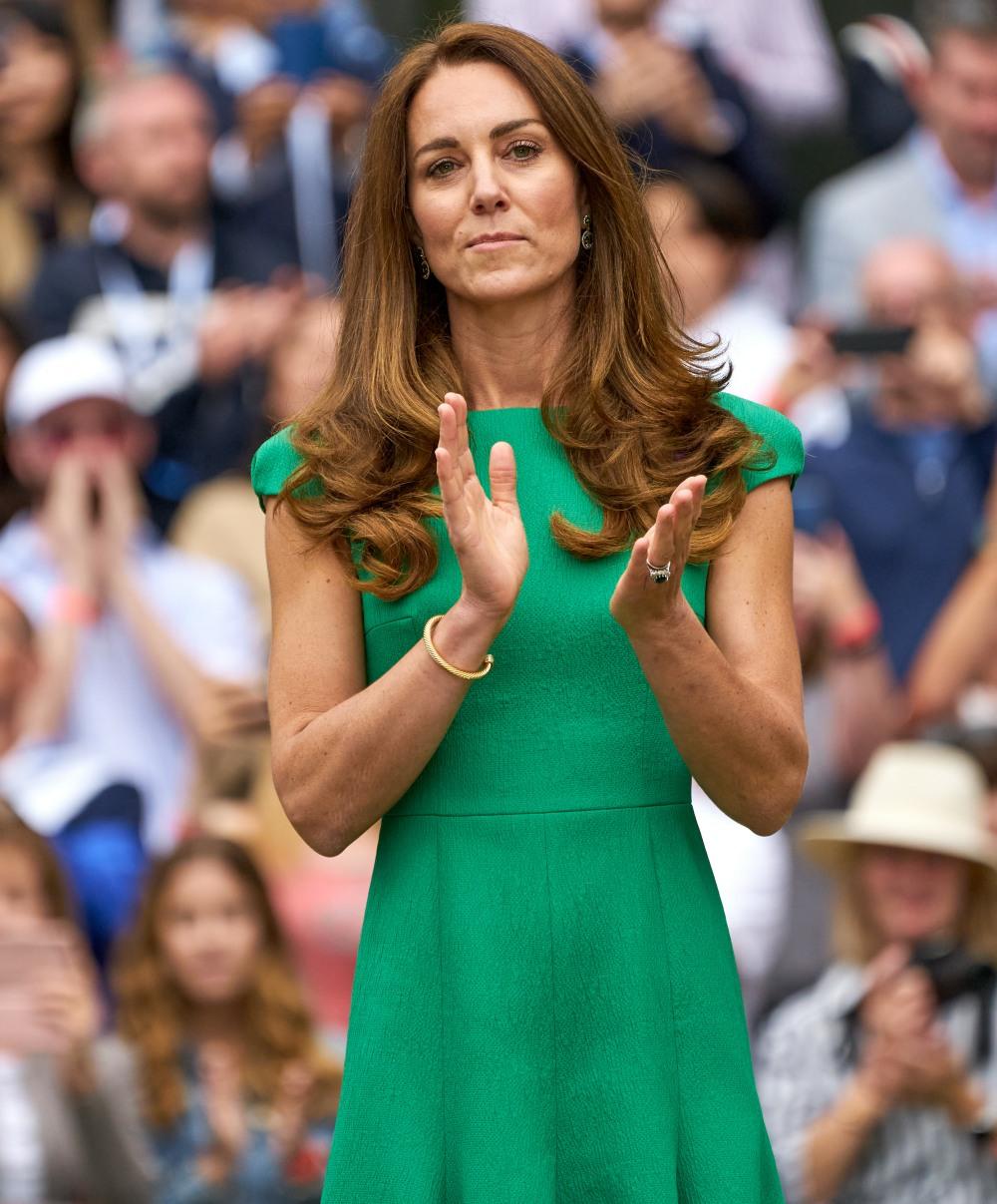 DESCRIPTION at the 2021 Wimbledon Championships