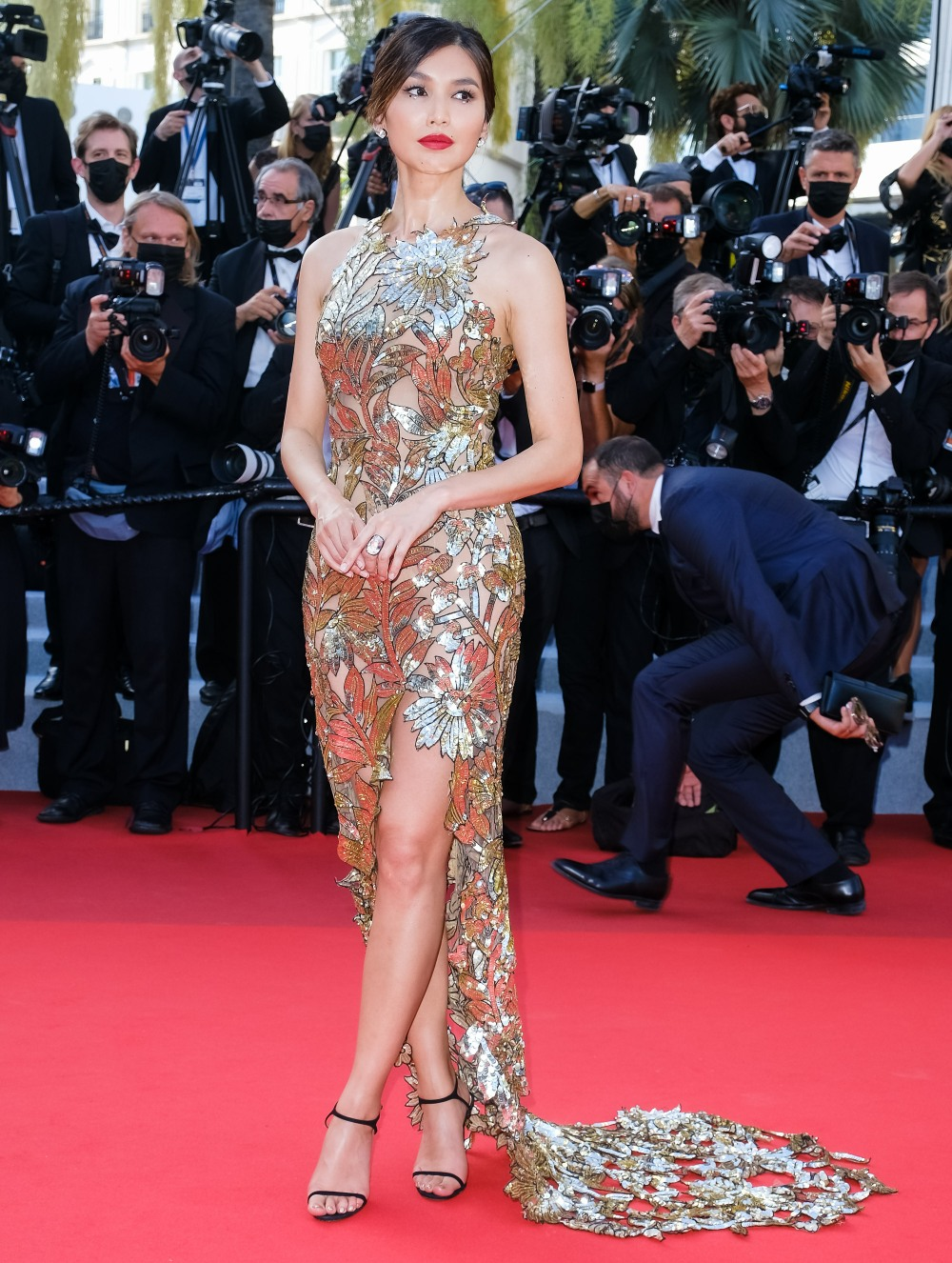 Closing Ceremony Red Carpet during the 74th Cannes International Film Festival