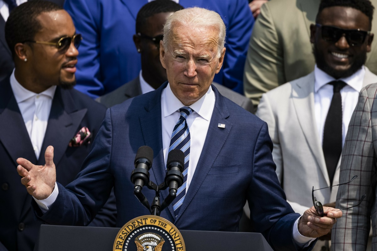 Biden Welcomes the Super Bowl LV Champion Tampa Bay Buccaneers