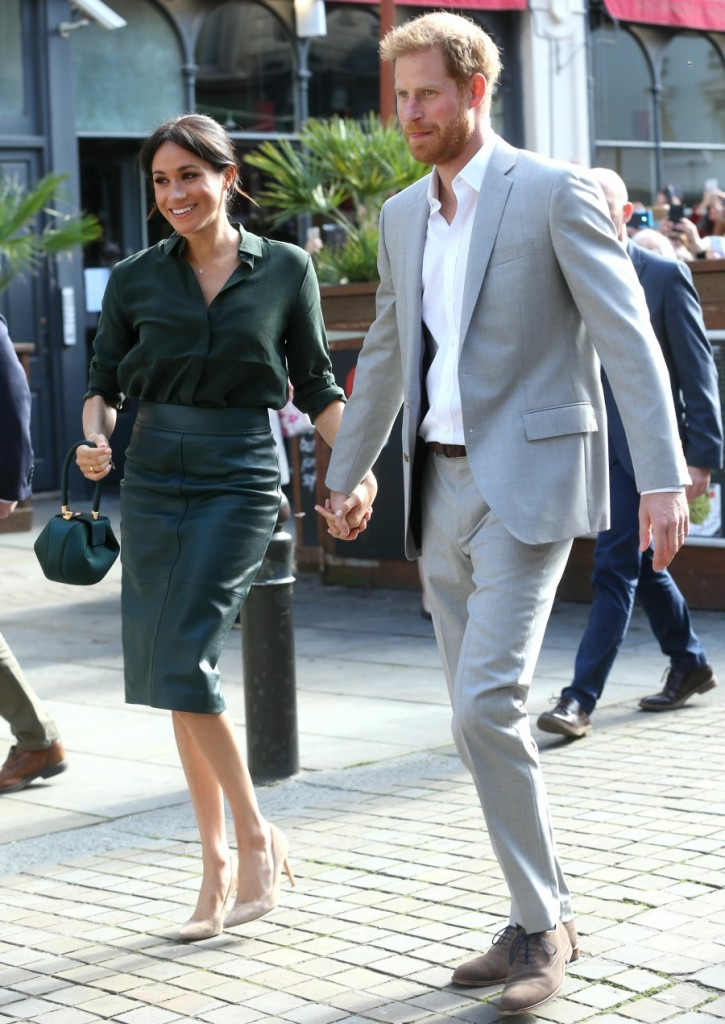 Meghan, Duchess of Sussex and Prince Harry visit Brighton