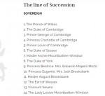 windsor line of succession