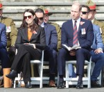 Prince William attends the ANZAC Day service in New Zealand