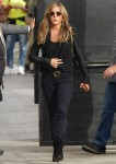 Jennifer Aniston arrives at Jimmy Kimmel live ahead of guest appearance!