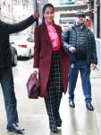 Jessica Mulroney arrives at Good Morning America