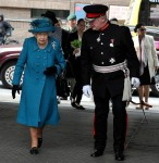 The Queen arrives at Manchester Victoria